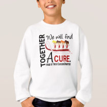 We Will Find A Cure Head And Neck Cancer Sweatshirt