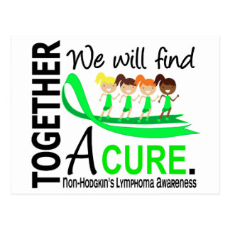 We Will Find A Cure Non-Hodgkin's Lymphoma Postcard