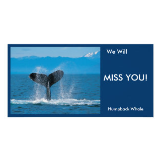 We Will MISS YOU!, Card