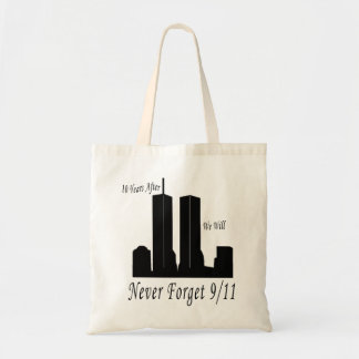 We Will Never Forget 9/11 Tote Bags