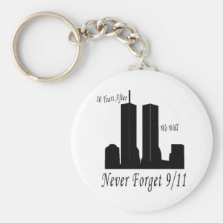 We Will Never Forget 9/11 Key Chain