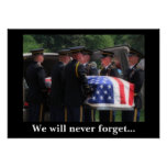 We will never forget... posters