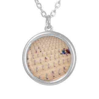 We Will Never Forget Round Pendant Necklace