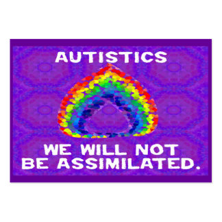 We Will Not Be Assimilated Activist Cards