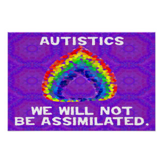 We Will Not Be Assimilated Poster