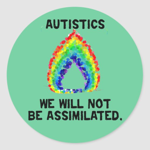 We Will Not Be Assimilated Stickers