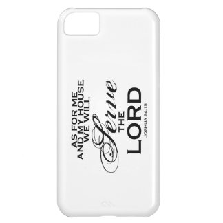 We Will Serve The Lord Case For iPhone 5C