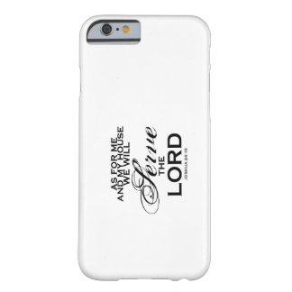 We Will Serve The Lord iPhone 6 Case