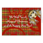 We Wish You A  Magical Christmas... and A Happy Cards