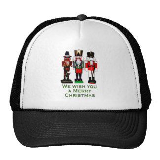 We Wish You a Merry Christmas Nutcrackers Trucker Hat