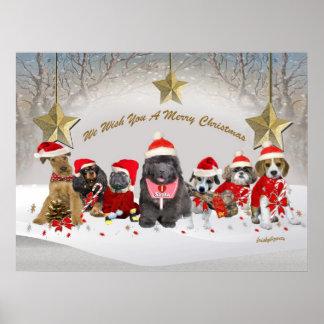 We wish you a merry christmas Print