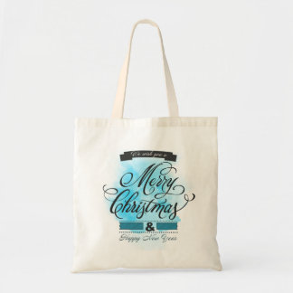 We wish you to Merry Christmas & Happy New Year Tote Bags