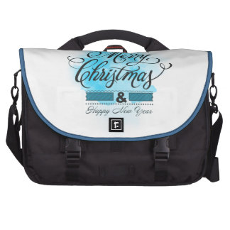 We wish you to Merry Christmas & Happy New Year Commuter Bag