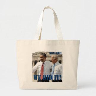 We Won - Obama Wins Tote Bag