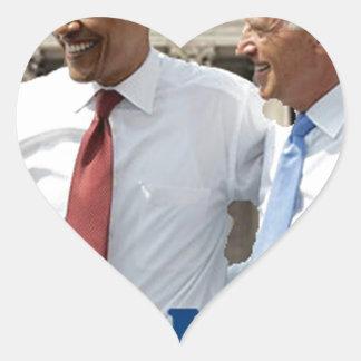We Won - Obama Wins Heart Sticker