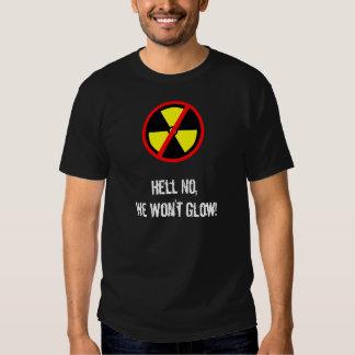 We Won't Glow Custom Anti-Nuke Symbol T-shirt
