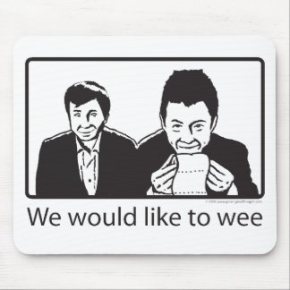We would like to wee mouse pad