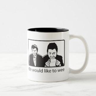 We would like to wee coffee mugs