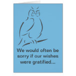 We would often be sorry greeting cards