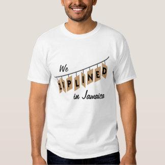 We Ziplined in Jamaica - customizable T Shirt