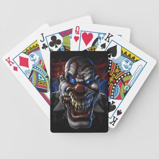 Weak Clown Bicycle Playing Cards