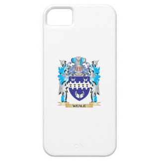 Weale Coat of Arms - Family Crest iPhone 5 Cover