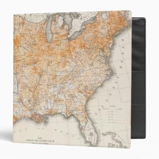 Wealth Distribution, Statistical US Lithograph Binder