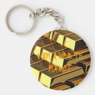 Wealth magnet key chains
