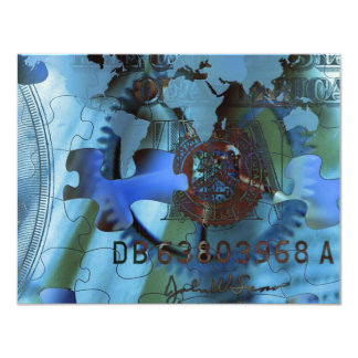 Wealth Puzzle Card