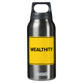 WEALTHITY 10 OZ INSULATED SIGG THERMOS WATER BOTTLE