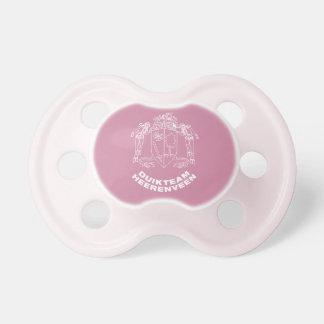 Wean little girl pacifier