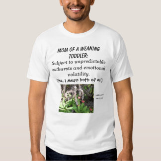 Weaning Mom T Shirt