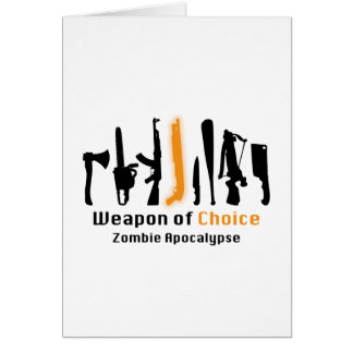 Weapon Of Choice Card