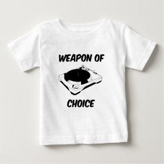 Weapon of Choice Dj Turntable Tees