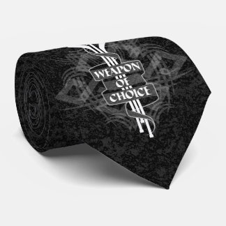 Weapon Of Choice (Hockey) Tie