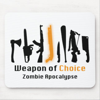 Weapon Of Choice Mouse Pad