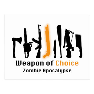 Weapon Of Choice Post Cards