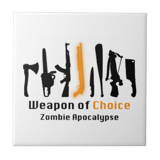 Weapon Of Choice Ceramic Tiles