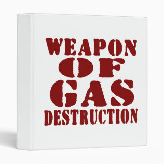 Weapon Of Gas Destruction Binder