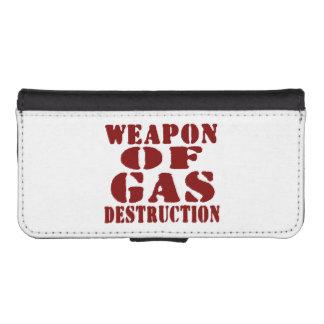 Weapon Of Gas Destruction iPhone SE/5/5s Wallet Case