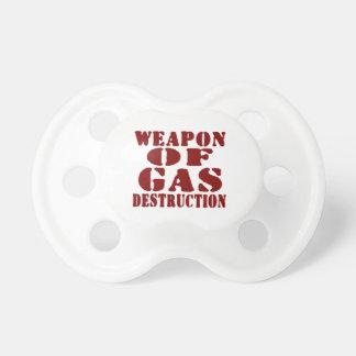 Weapon Of Gas Destruction Pacifier