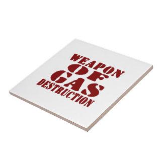 Weapon Of Gas Destruction Tile