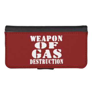 Weapon Of Gas Destruction Wallet Phone Case For iPhone SE/5/5s