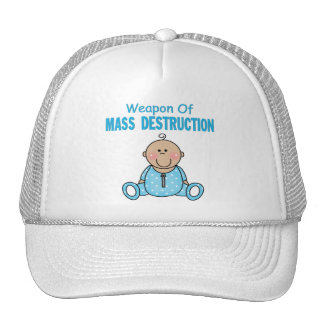 Weapon of Mass Descruction Boy Trucker Hat