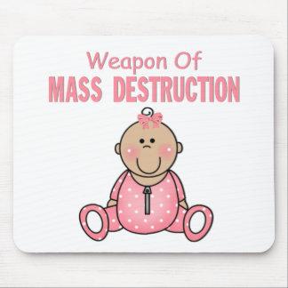 Weapon of Mass Destruction Girl Mousepad