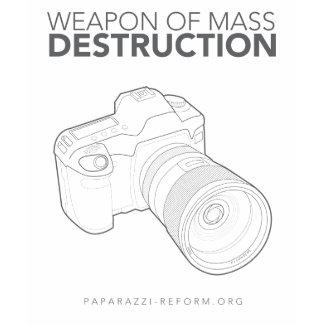 Weapon Of Mass Destruction shirt