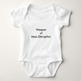 Weapon of Mass Disruption Baby Bodysuit