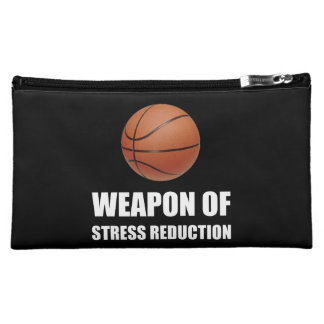 Weapon of Stress Reduction Basketball Cosmetic Bag