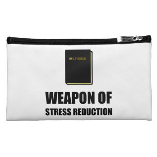Weapon of Stress Reduction Bible Cosmetic Bag