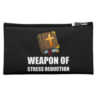 Weapon of Stress Reduction Bible Makeup Bag